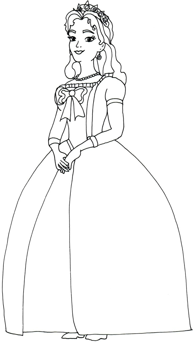 Queen coloring #11, Download drawings