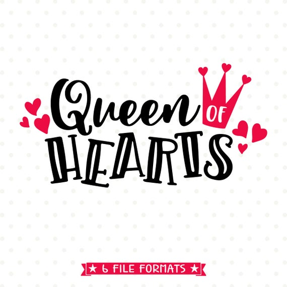 queen of hearts svg #362, Download drawings
