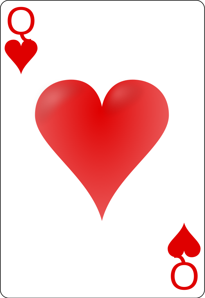 queen of hearts svg #360, Download drawings