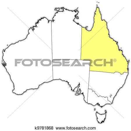Queensland clipart #4, Download drawings