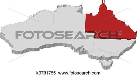Queensland clipart #2, Download drawings