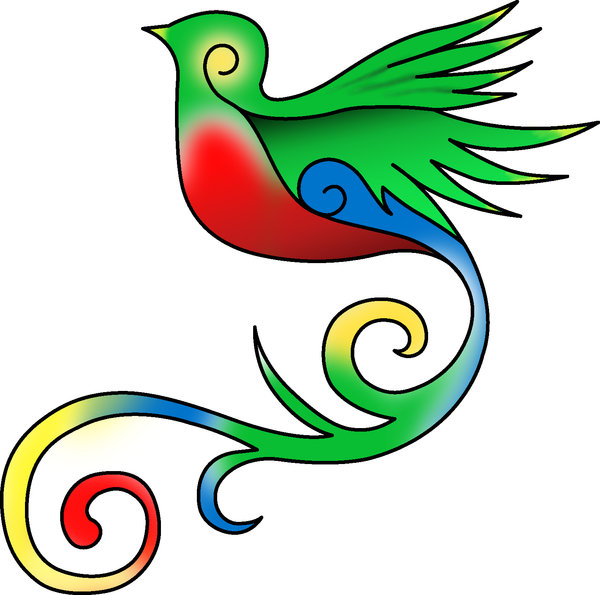 Quetzal Of Guatemala clipart #2, Download drawings