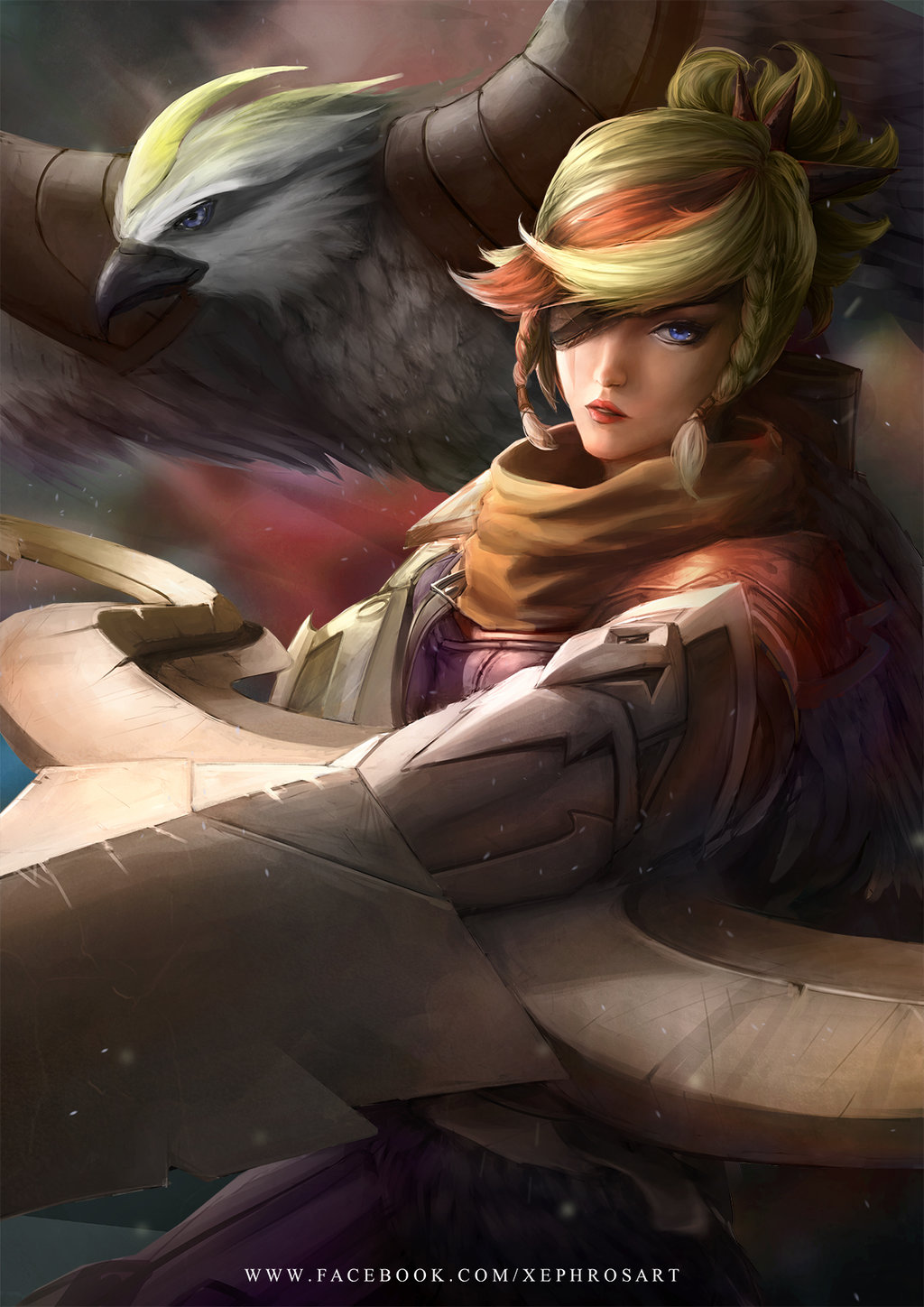 Quinn (League Of Legends) coloring #6, Download drawings