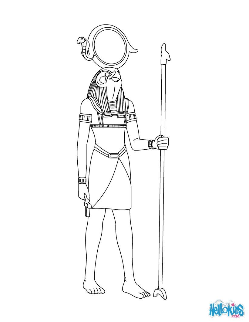 Sekhmet (Deity) coloring #19, Download drawings