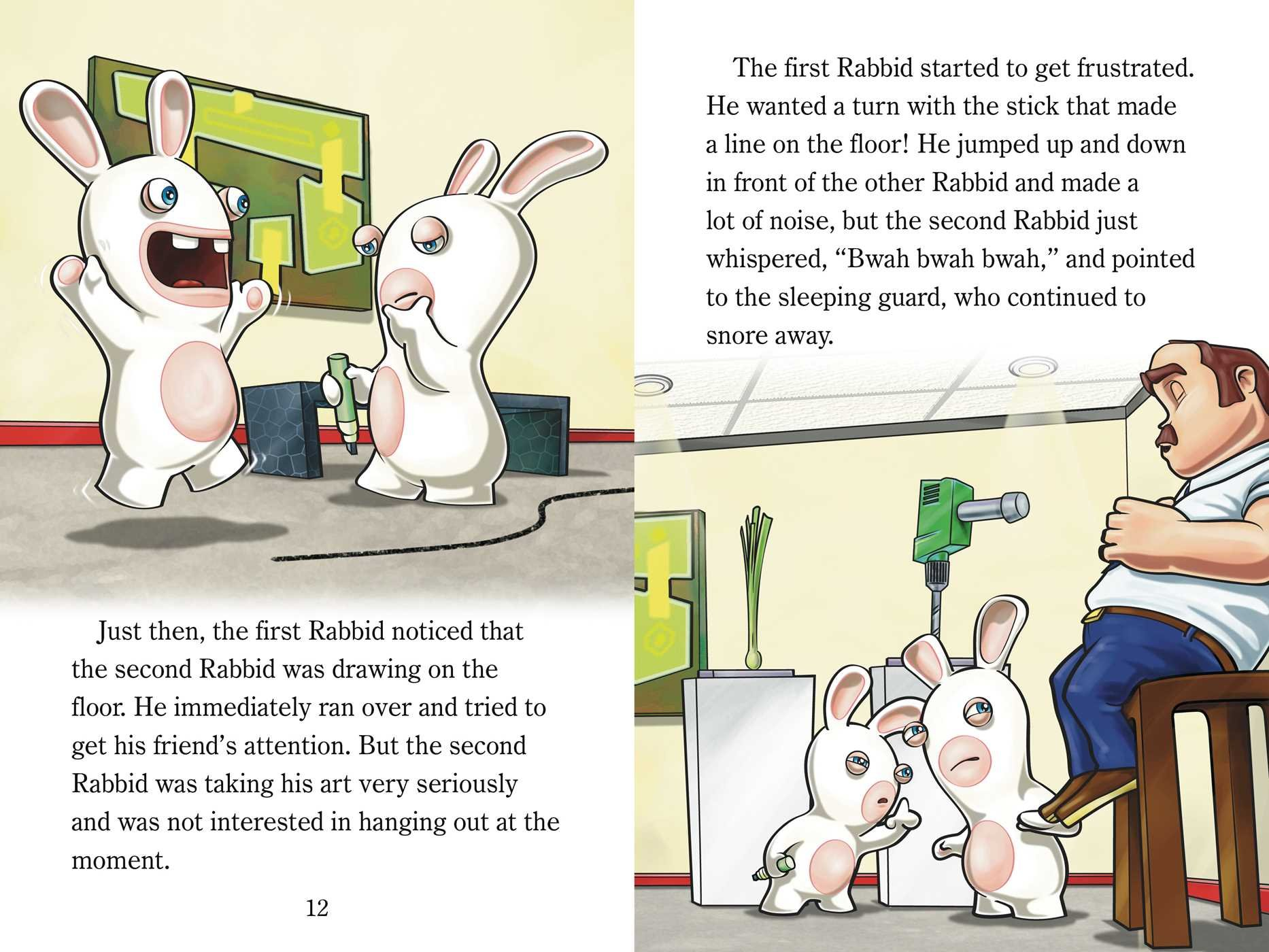 Rabbid clipart #11, Download drawings