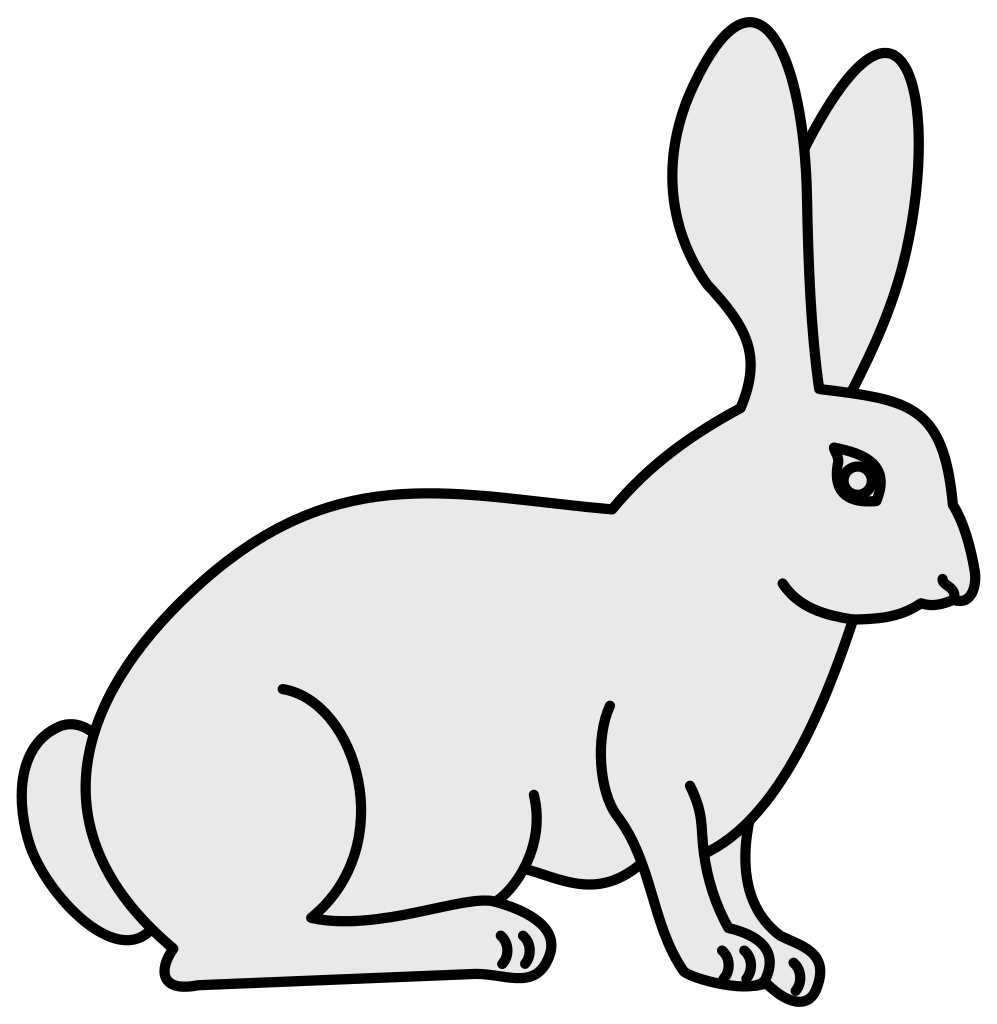 Rabbit svg #7, Download drawings