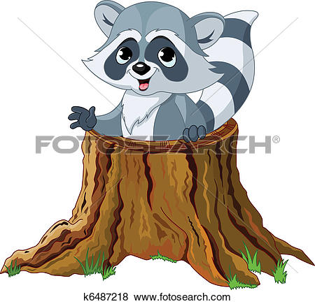 Racoon clipart #15, Download drawings