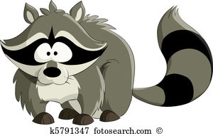 Racoon clipart #1, Download drawings