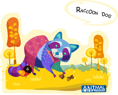 Raccoon Dog svg #13, Download drawings