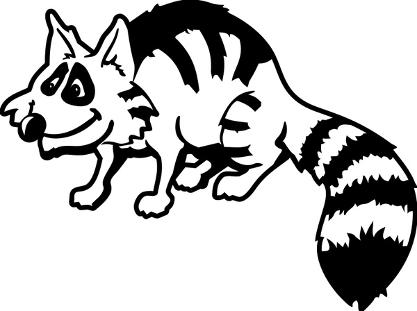Raccoon Dog svg #1, Download drawings