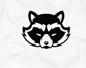 Racoon svg #11, Download drawings