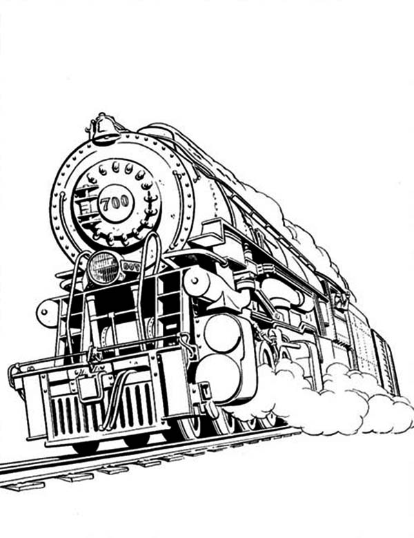2020 Other | Images: Steam Train Front Drawing