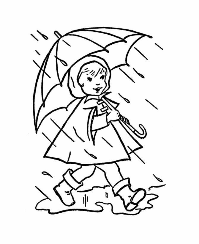 Rainfall coloring #18, Download drawings