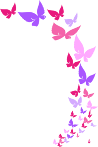 Rainbow Butterfly clipart #2, Download drawings
