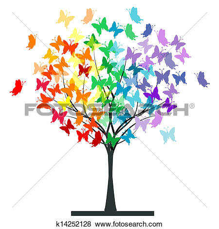 Rainbow Butterfly clipart #15, Download drawings