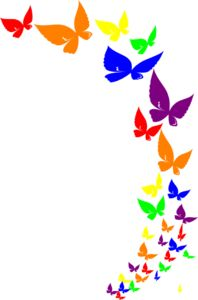 Rainbow Butterfly clipart #9, Download drawings