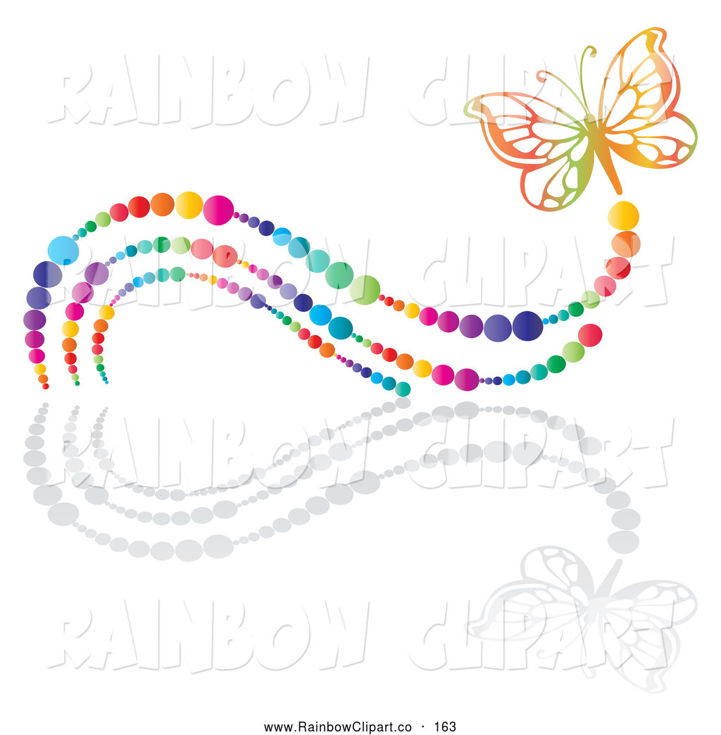 Rainbow Butterfly clipart #19, Download drawings