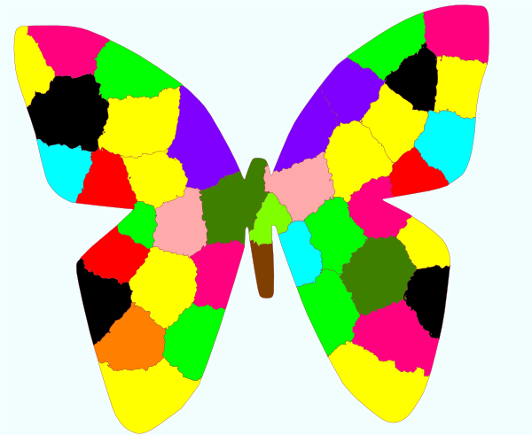 Rainbow Butterfly clipart #6, Download drawings