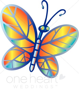 Rainbow Butterfly clipart #8, Download drawings