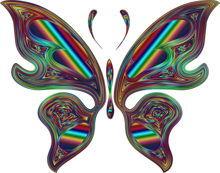 Rainbow Butterfly svg #9, Download drawings