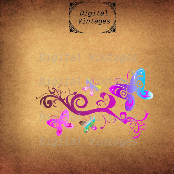 Rainbow Butterfly svg #4, Download drawings