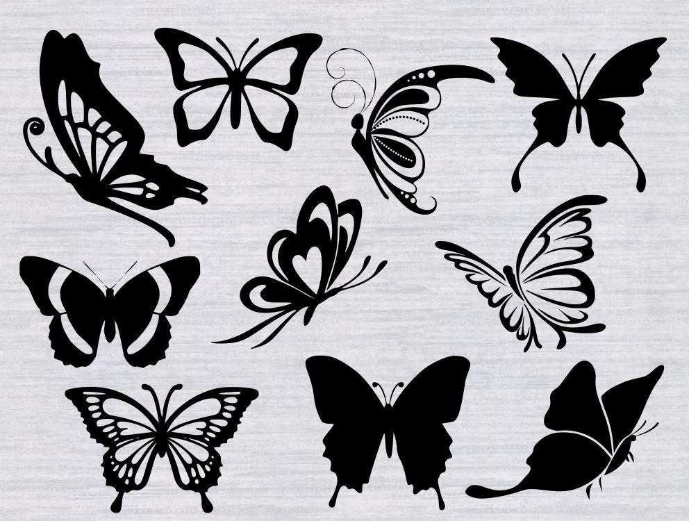 Rainbow Butterfly svg #2, Download drawings