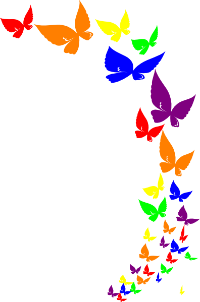 Rainbow Butterfly svg #20, Download drawings