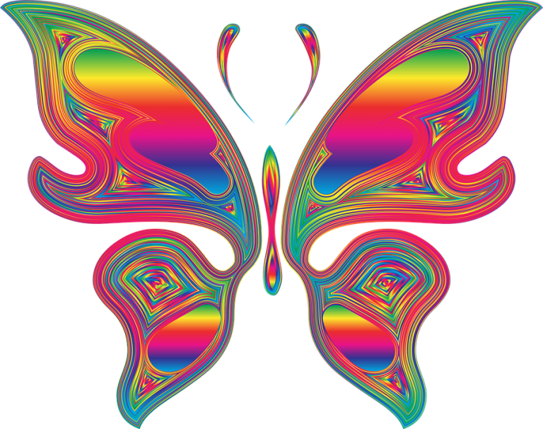 Rainbow Butterfly svg #11, Download drawings