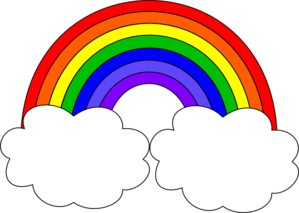 Rainbow clipart #5, Download drawings