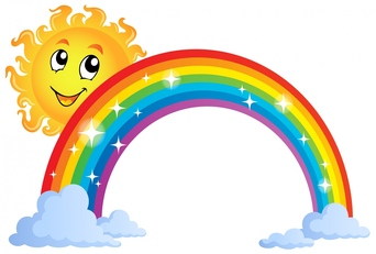 Rainbow clipart #4, Download drawings