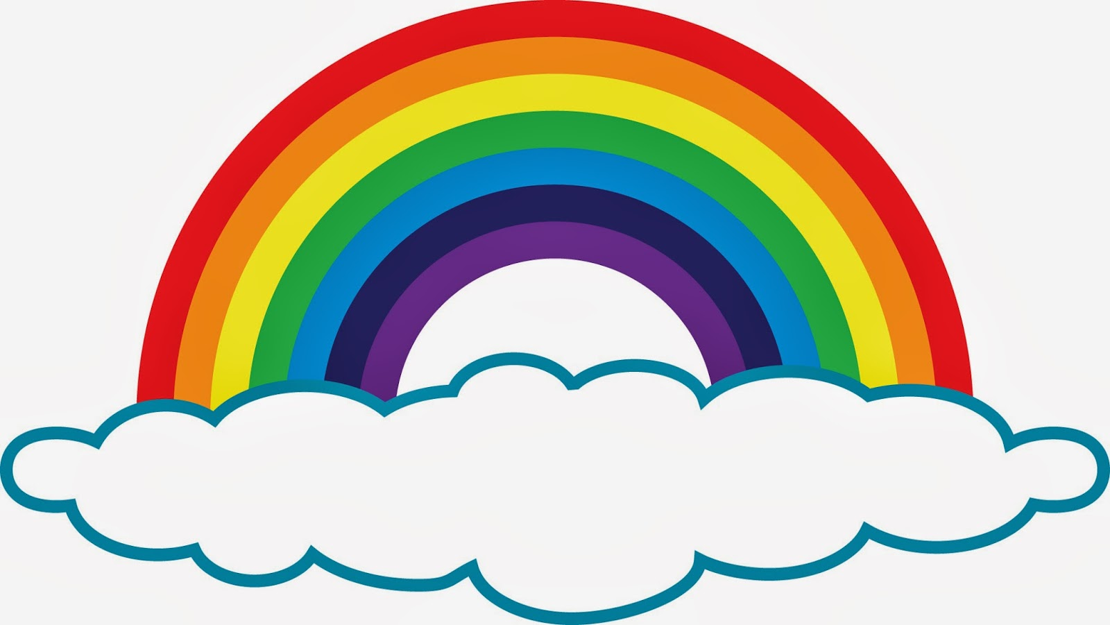 Rainbow clipart #9, Download drawings