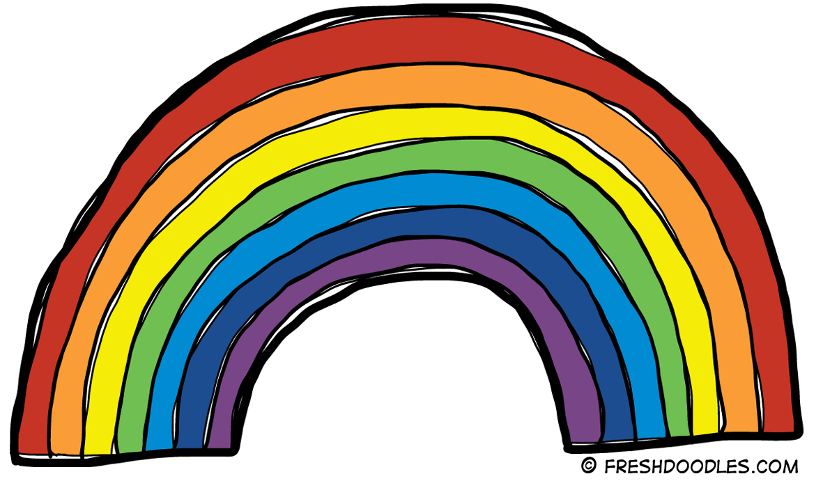 Rainbow clipart #11, Download drawings