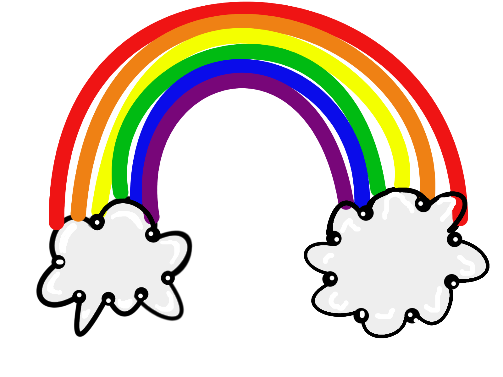 Rainbow clipart #10, Download drawings