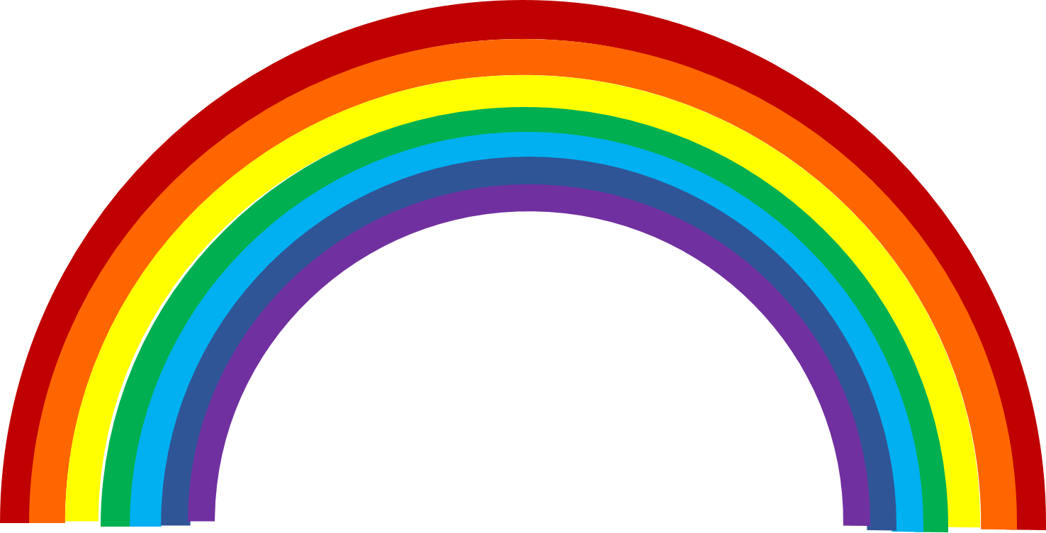 Rainbow clipart #6, Download drawings