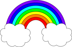 Rainbow clipart #16, Download drawings