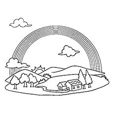 Rainbow coloring #3, Download drawings