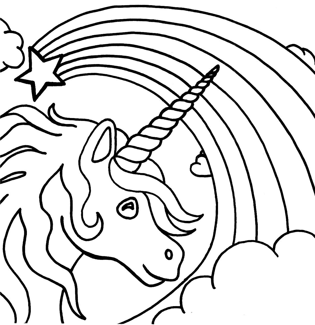 Rainbow coloring #4, Download drawings