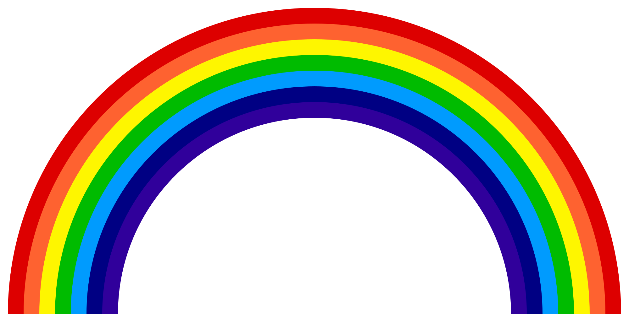 Rainbow svg #152, Download drawings