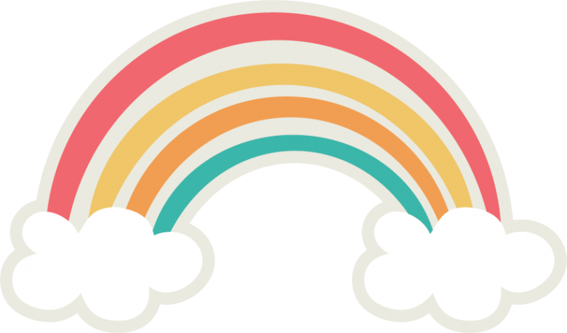 Rainbow svg #155, Download drawings