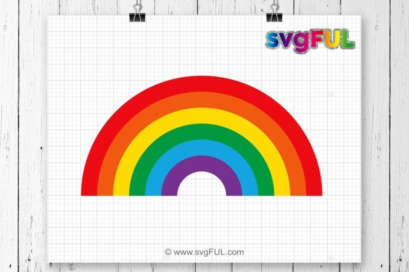 rainbow svg free #58, Download drawings
