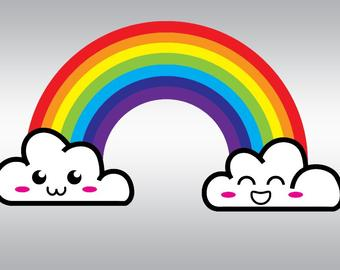 Rainbow svg #668, Download drawings