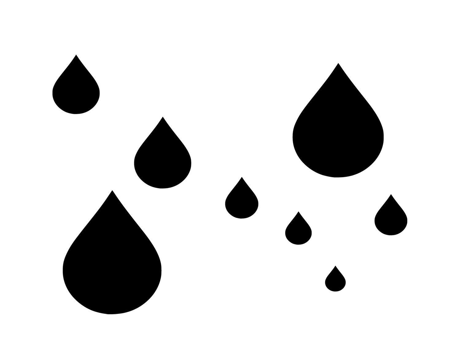 Raindrops svg #5, Download drawings