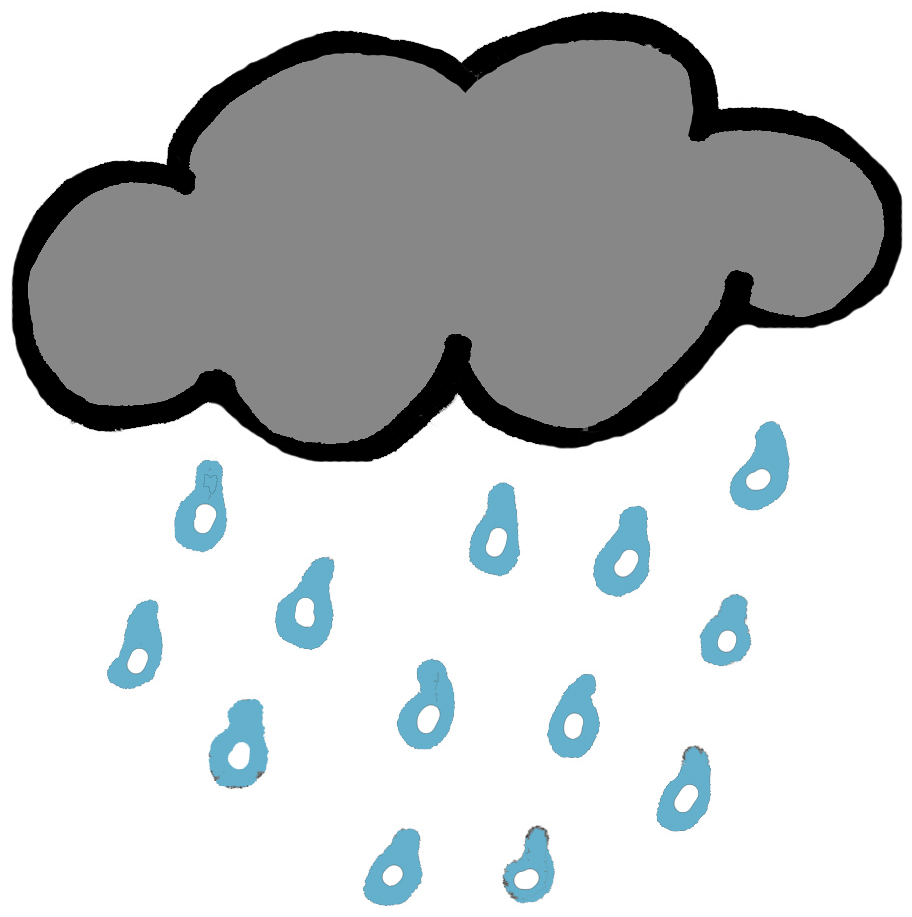 Rainfall clipart #2, Download drawings