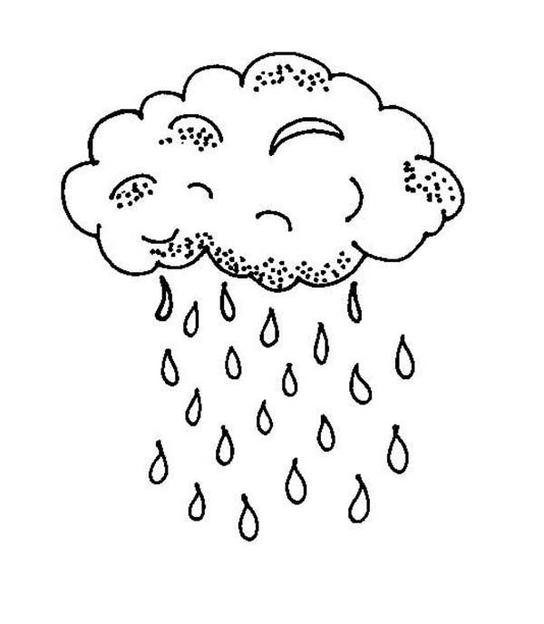 Rainfall coloring #14, Download drawings