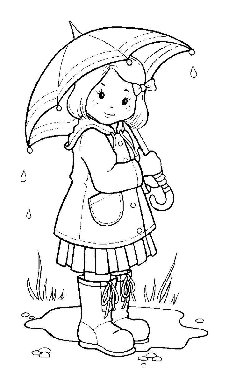 Rainfall coloring #3, Download drawings