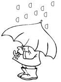 Rainfall coloring #10, Download drawings