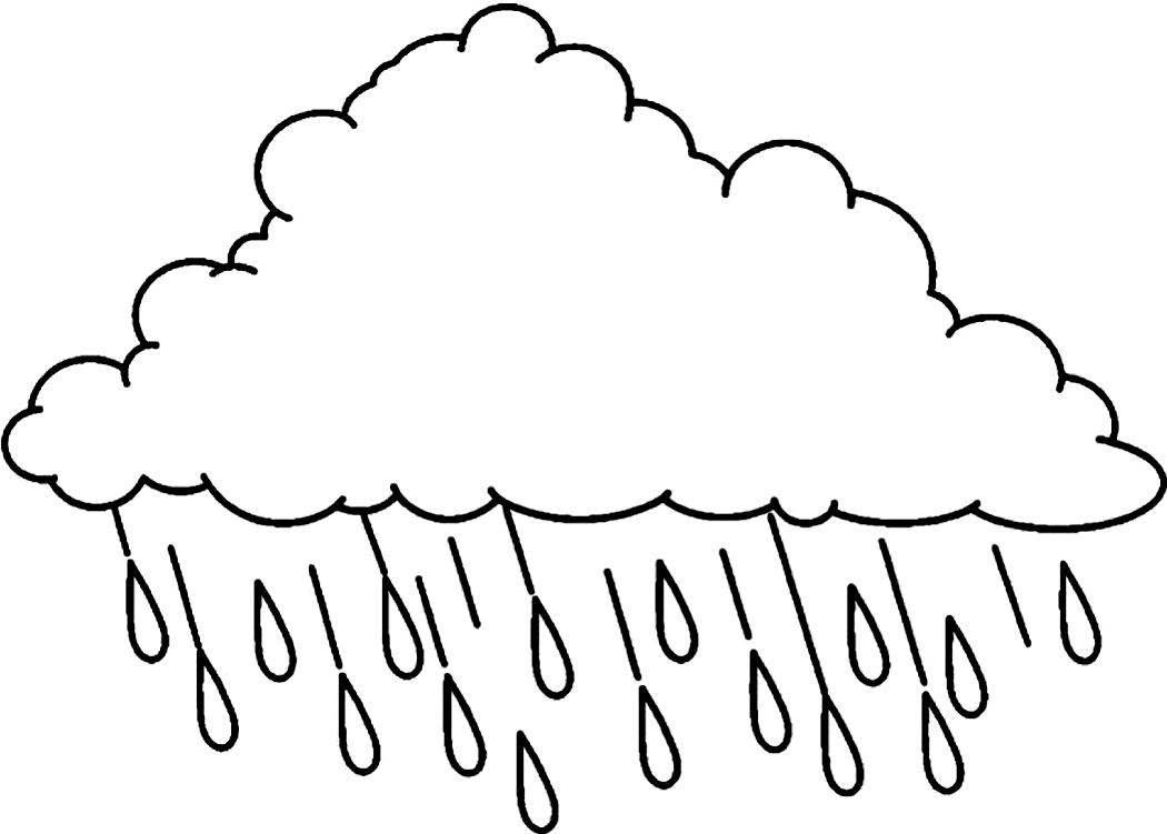 Rainfall coloring #4, Download drawings