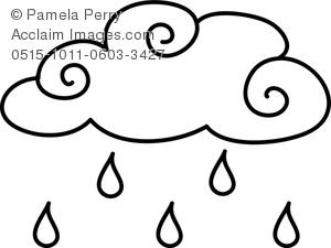 Rainfall coloring #15, Download drawings