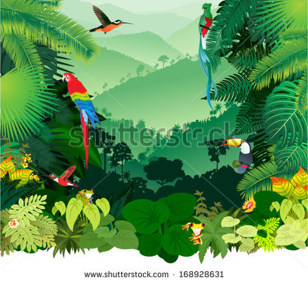 Rainforest svg #1, Download drawings