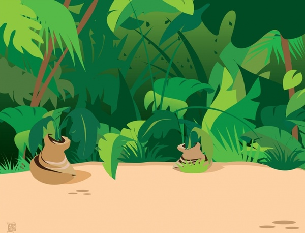 Rainforest svg #4, Download drawings